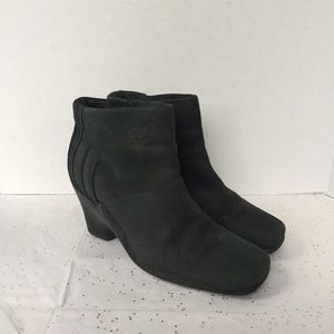 Timberland Black Nubuck Winter Ankle Boot - Size 8